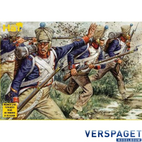 Napoleonic French Fusiliers -8041