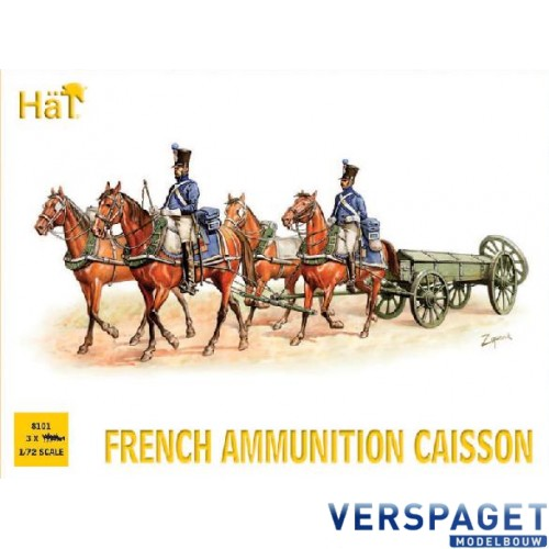 French Ammunition Caisson -8101