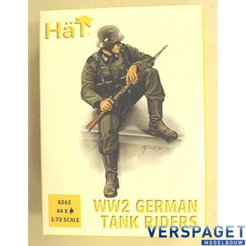 German Tank Riders -8262