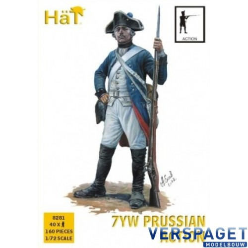 7YW Prussian Infantry, Action -8281