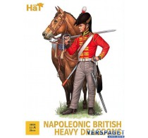Napoleonic British Heavy Dragoons -8308