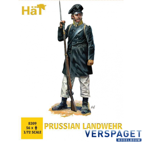 Prussian Landwehr Marching -8309