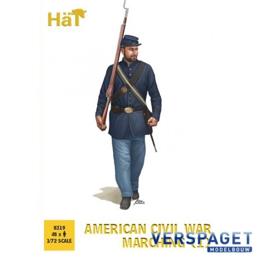 American Civil War Marching -8319