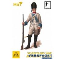 Austrians In Action 7 Years War -8323