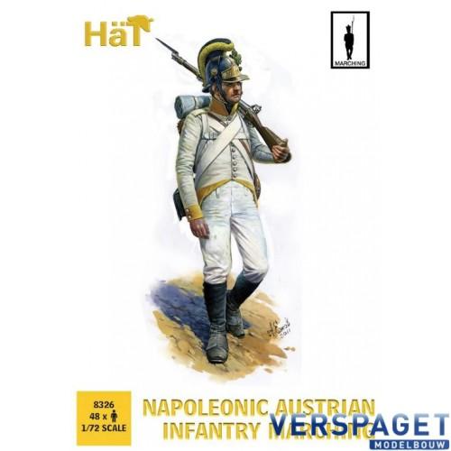 Napoleonic Austrian Infantry Marching -8326