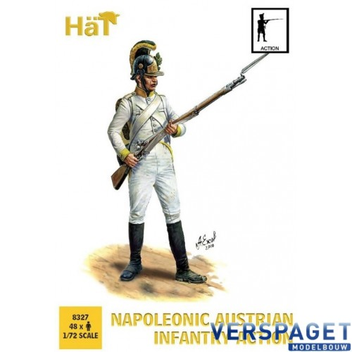 Napoleonic Austrian Infantry Action -8327