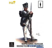Napoleonic Russian Musketeers Marching -9320