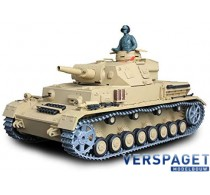 RC Tank 1/16   German Panzer IV (F Type) Medium Tank BB Metal Gear -3858-1UPG
