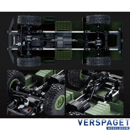 RC U.S. Military Truck 1/16 Groen  -1112438531