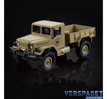 RC U.S. Military Truck 1/16 Zand -1112438532