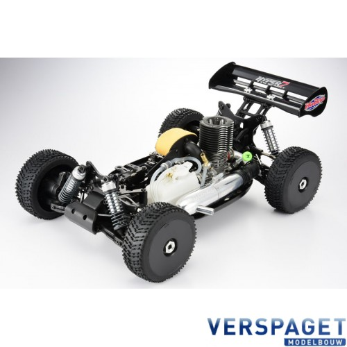 HYPER 7 TQ2 RTR BUGGY W/MAC*28 TURBO ENGINE, 2.4GHZ RADIO -HBM&-TQF28BU