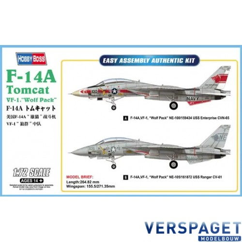 F-14A Tomcat VF-1 Wolf Pack -80279