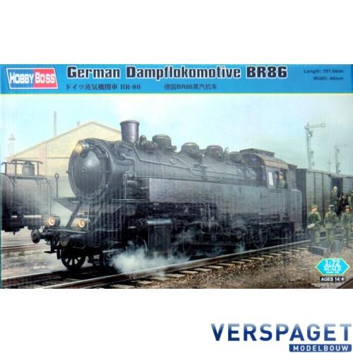 German Dampflokomotive BR86 82914