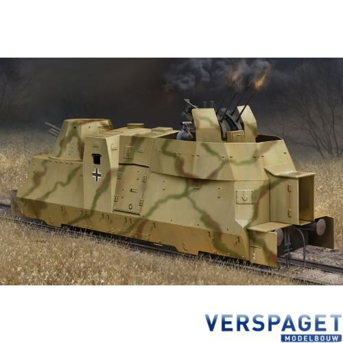 German Kanonen und Flakwagen of BP42 -82925