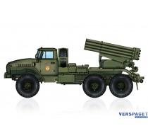 Russian BM-21 Grad Multiple Rocket Launcher -82931