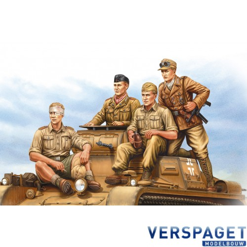 German Tropical Panzer Crew -84409