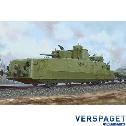 Soviet MBV-2 Armored Train -85514