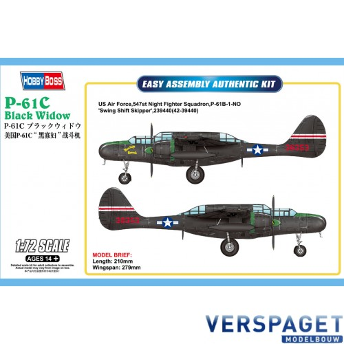 P-61C Black Widow -87263