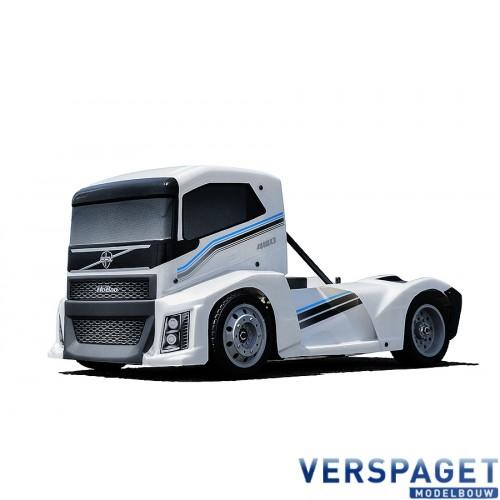 HYPER EPX 1/10 CAB TRUCK ROLLER W/White BODY -HB-GPX4E-W