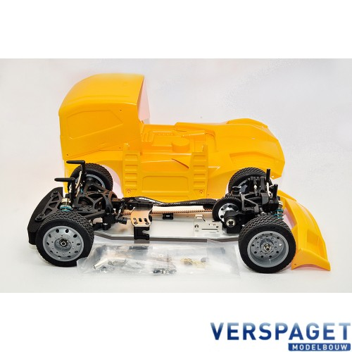 HYPER EPX 1/10 CAB TRUCK ROLLER W/YELLOW BODY -HB-GPX4E-Y