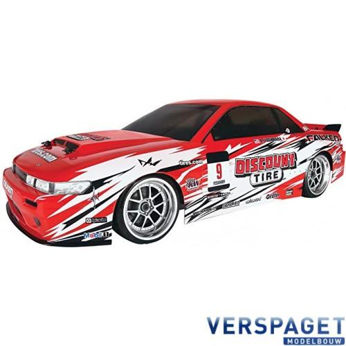 E10 Drift Discount Tire/Falken Tire Nissan S13 Drifting-109291
