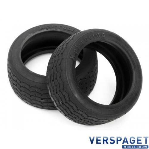 VINTAGE RACING TIRE 26mm D COMPOUND (2pcs) -4793