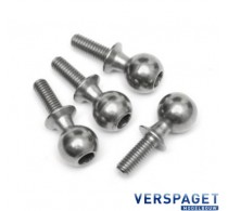 Ball End Screw Set 10x25mm. -86411