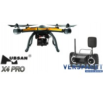 X4 PRO LOW EDITION FPV DRONE W/1080P CAMERA, 1-AXIS GIMBAL -H109S
