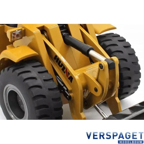 Wheel Loader Aluminium 10-kanaals 2.4G RTR  -CY1583