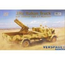 3Ro Italian Truck w/ 100mm 100/17 Howitzer -35053