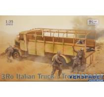 3Ro Italian Truck - Troop Carrier -35055