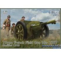 75mm French Field Gun Mle 1897 Modified 1938 -35056