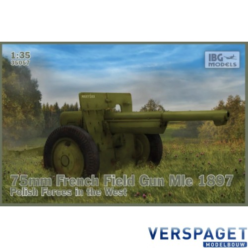 75mm French Field Gun Mle 1897 Polish Forces in the West -35057