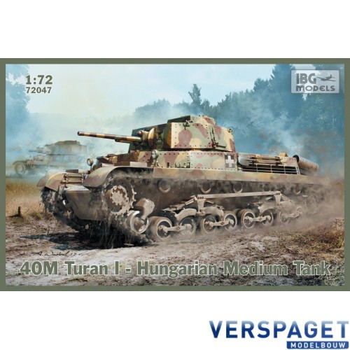 40M Turan I  Hugarian Medium Tank -72047