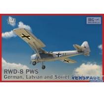 RWD-8 PWS German, Latvian and Soviet Service -72503