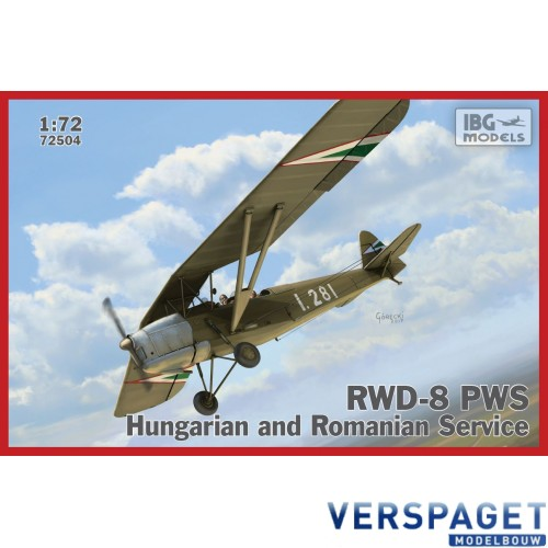 RWD-8 PWS Hungarian and Romanian -72504