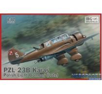 PZL.23B Karaś Polish Light Bomber Late production -72507