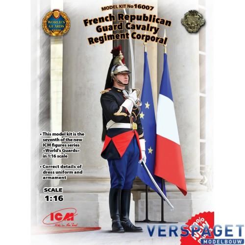 French Republican Guard Cavalry Regiment Corporal -16007