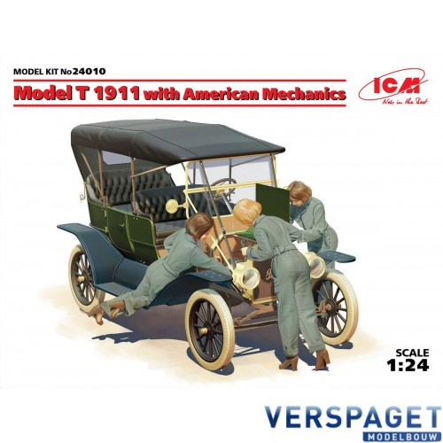 Model T 1911 Touring with American Mechanics  -24010