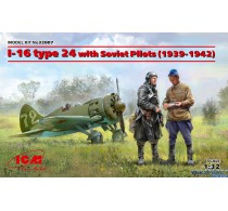 I-16 type 24 with Soviet Pilots 1939-1942 -32007