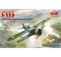 Polikarpov I-153 WWII China Guomindang Air Force Fighter -32012