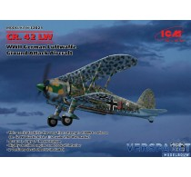 Fiat CR.42 LW WWII GERMAN Luftwaffe Ground Attack Aircraft & Duitse Decals -32021
