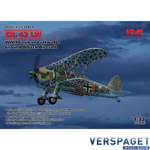 Fiat CR.42 LW WWII Belgium Luftwaffe Ground Attack Aircraft & belgische Decals -32021B