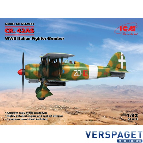 CR. 42AS, WWII Italian Fighter-Bomber -32023