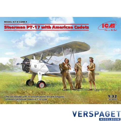 Stearman PT-17 with American Cadets -32051