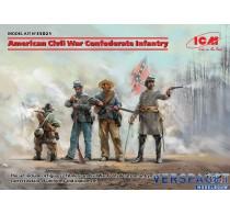 American Civil War Confederate Infantry -35021