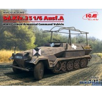 Sd.Kfz.251/6 Ausf.A, WWII German Armoured Command Vehicle -35102
