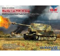 Marder I on FCM 36 base WWII German Anti-Tank Self-Propelled Gun -35339