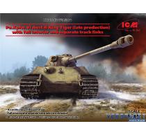 Preorder Pz.Kpfw.VI Ausf.B King Tiger (late prod) W/Full Interior, WWII German Heavy Tank -35364