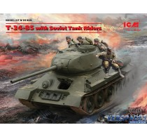 T-34-85 with Soviet Tank Riders -35369